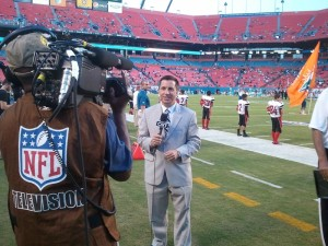 Mike Nabors, Sideline Reporter