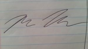 sloppy signature (2)