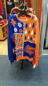 ugly gator sweater