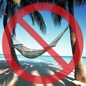 no vacations