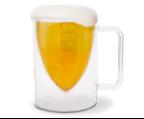 bottoms up football mug
