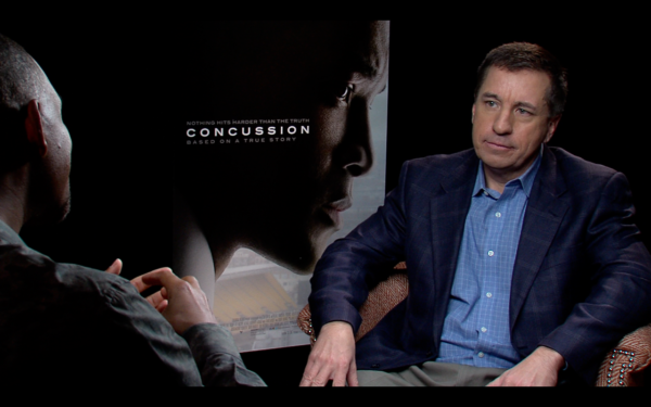Concussion Movie - Will Smith with MIke Nabors
