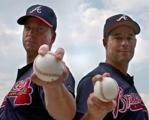 maddux and glavine pic