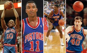 detroit pistons:bad boys  pic