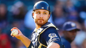 Brewers catcher Jonathan Lucroy