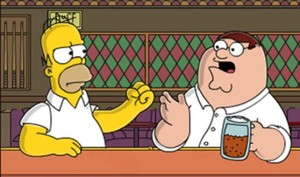 homer and peter pic