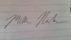 good signature
