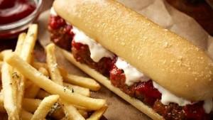 breadstick sandwiches