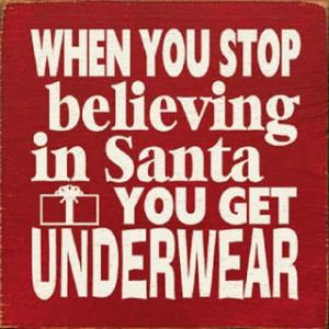 believe in santa pic