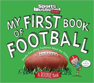 my first book of football pic