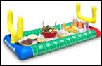 football stadium inflatable salad bar